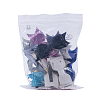 NBEADS Cloth Bowknot Alligator Hair ClipsOHAR-NB0001-02-7