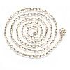 Brass Paperclip ChainsMAK-S072-09A-G-2