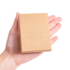 Kraft Cotton Filled Cardboard Paper Jewelry Set BoxesCBOX-R036-11A-4