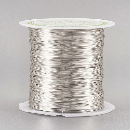 Copper Wire Copper Beading Wire for Jewelry MakingCWIR-F001-S-0.4mm-1