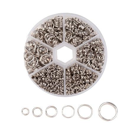 1 Box Iron Split RingsIFIN-X0026-P-B-1