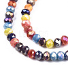 Opaque Glass Beads StrandsX-GLAA-T006-12A-3