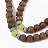 4-Loop Wrap Style Buddhist JewelryBJEW-T009-07-4
