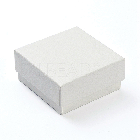Cardboard Gift Box Jewelry Set BoxesCBOX-F004-02B-1