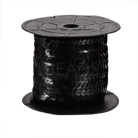 Black Paillette/Sequins RollX-BS01Y-1