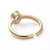 Adjustable Brass Cuff Finger RingsRJEW-G096-04G-3