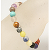 Assorted Stone Beads BraceletsX-BJEW-Q300-2