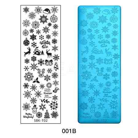 Stainless Steel Nail Art Stamping PlatesX-MRMJ-Q044-001B-1
