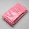 Child Plastic Knit Needles Sewing Knitting Cross StitchX-TOOL-R077-06-1