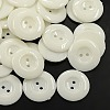 Acrylic Sewing Buttons for Costume Design X-BUTT-E087-C-01-1