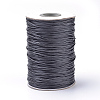 Braided Korean Waxed Polyester Cords YC-T002-0.8mm-101-1