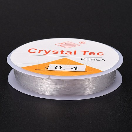 Flat Crystal Elastic Stretch ThreadEW-Z001-D01-0.4mm-1