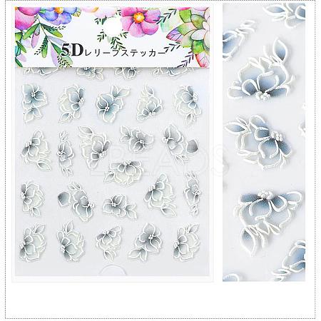 5D Nail Art Water Transfer Stickers DecalsX-MRMJ-S008-084M-1