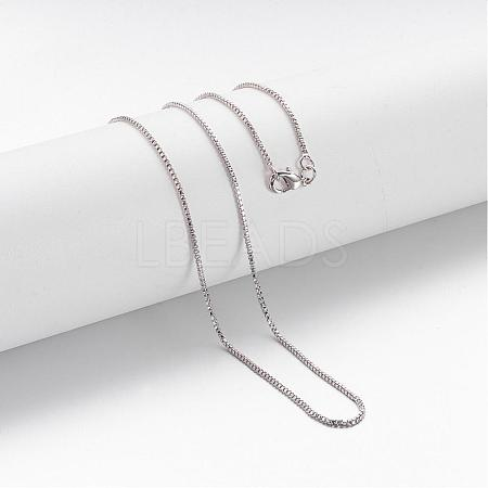 Brass Chain Necklace MakingMAK-F013-02P-1