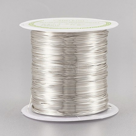 Copper Wire Copper Beading Wire for Jewelry MakingCWIR-F001-S-0.5mm-1