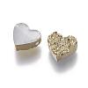 Imitation Druzy Gemstone Resin BeadsX-RESI-L026-D01-2