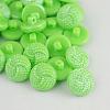 Taiwan Acrylic Shank ButtonsX-BUTT-F028-13mm-C11-1