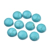 Natural Turquoise Cabochons G-P393-R64-12MM-1