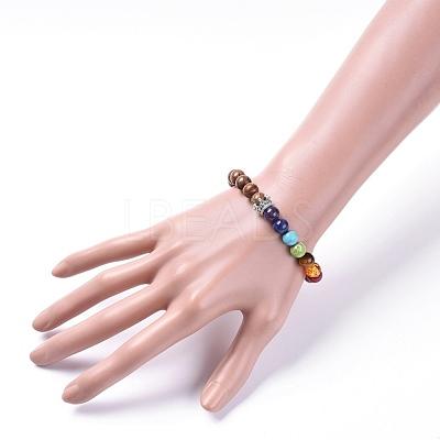 Yoga Chakra JewelryBJEW-JB04704-04-1