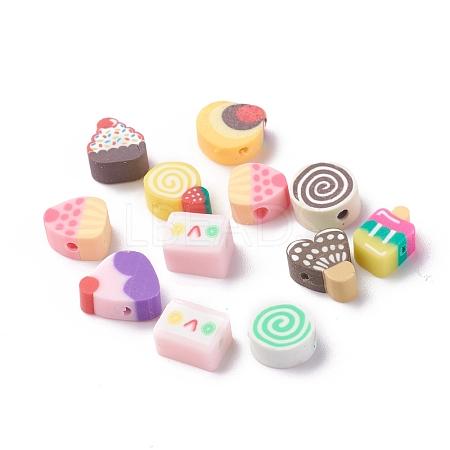 Handmade Polymer Clay BeadsX-CLAY-I010-01-1