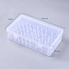 Transparent Plastic BoxesCON-WH0070-03-2