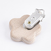 Beech Wood Baby Pacifier Holder ClipsWOOD-T015-24-2