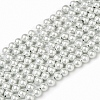 Magnetic Synthetic Hematite Beads Strands IM4mm1041-1