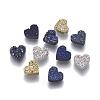 Imitation Druzy Gemstone Resin BeadsRESI-L026-D-1