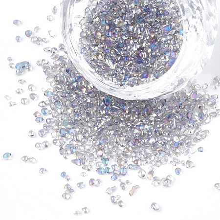 Plated Glass Seed BeadsX-SEED-S016-02-1