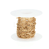Soldered Brass Paperclip ChainsCHC-G005-03G-6