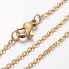 304 Stainless Steel Necklace MakingX-MAK-K004-17G-2