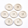 Natural Wood Buttons WOOD-N006-87A-01-1