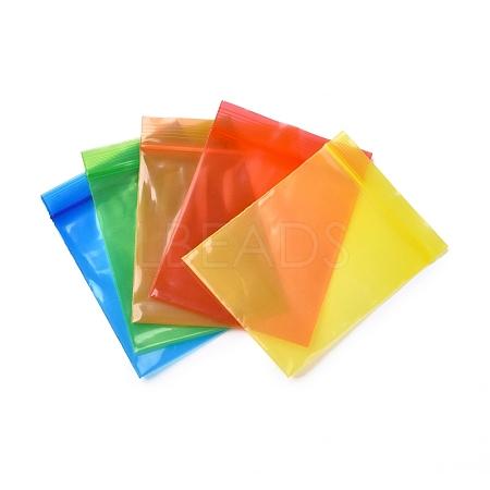 Solid Color PE Zip Lock BagsOPP-M001-01A-M-1