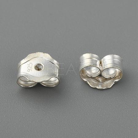 Sterling Silver Earring FindingsX-STER-O013-05-1