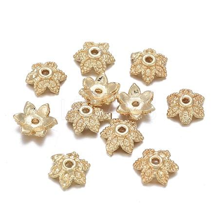 Brass Bead CapsX-KK-K244-03G-1