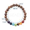 Yoga Chakra JewelryBJEW-JB04704-04-3