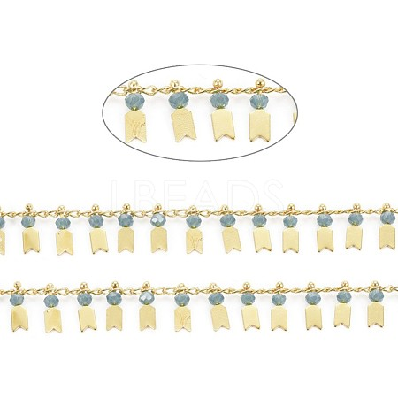 Handmade Glass Beaded ChainsCHC-I029-06A-1
