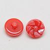Taiwan Acrylic Shank ButtonsX-BUTT-F026-13mm-C15-2