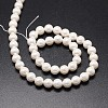 Shell Pearl Beads StrandsX-BSHE-E008-10mm-12-2