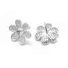 925 Sterling Silver Stud Earring Findings STER-L055-017P-2