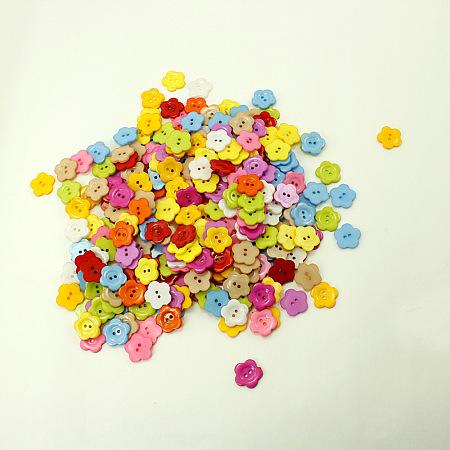 Plum Blossom Shape ButtonsX-NNA0VCX-1