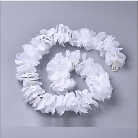 Artificial Silk Wisteria Vine Hanging Flowers GarlandsAJEW-CJ0005-04A-1