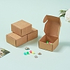 Kraft Paper BoxCON-WH0036-01-6