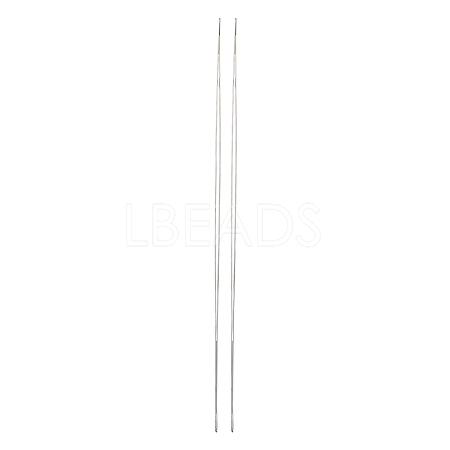 Iron Big Eye Beading NeedlesTOOL-R095-02-1