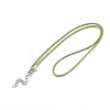 Waxed Cord Necklace MakingNCOR-T001-16-2
