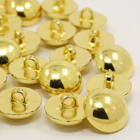 1-Hole Plating Acrylic Shank ButtonsX-BUTT-I015B-1