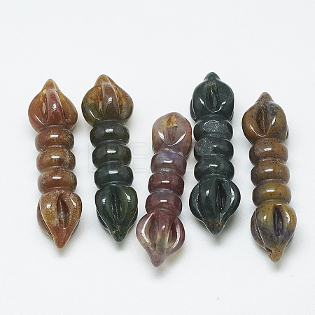 Natural Indian Agate Links/ConnectorsG-T122-13D-1