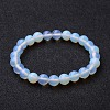 Opalite Beaded Stretch Bracelets BJEW-F203-01-1