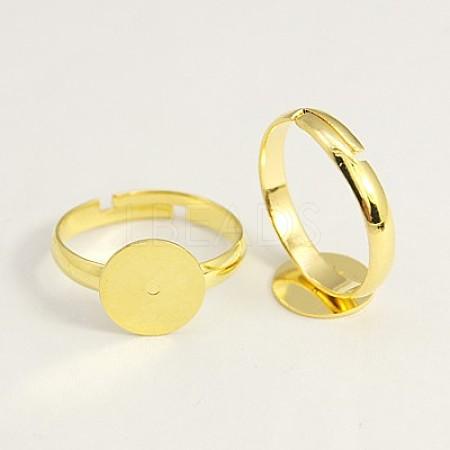 Brass Pad Ring Base FindingsEC022-G-1