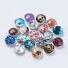 Brass Jewelry Snap Buttons SNAP-MSMC001-02-1